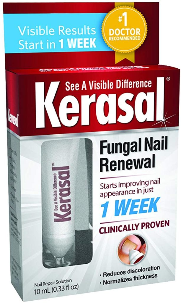 Kerasal Nail Warnings